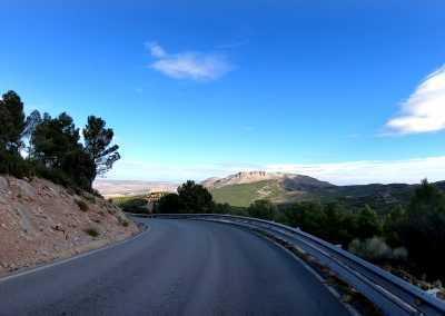 Andalusien Passstraße
