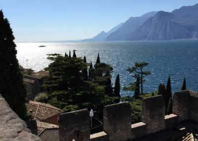 Ausblick Gardasee