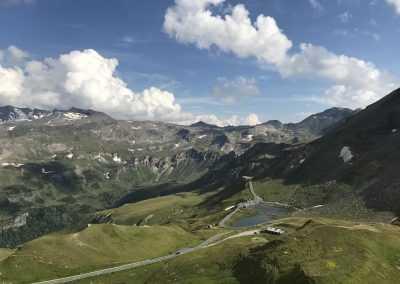 Passstraße Alpen