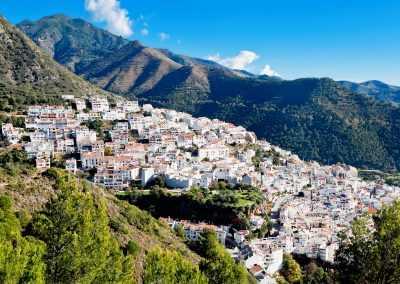 Die Weißen Dörfer Andalusiens